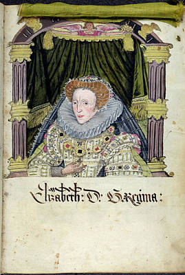 Queen Elizabeth I Poster by British Library