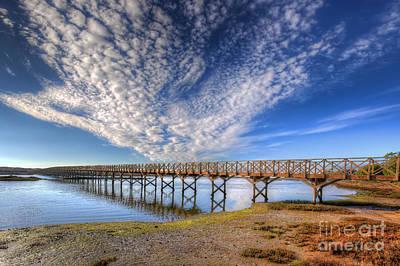 Quinta Do Lago Wooden Bridge Poster by English Landscapes