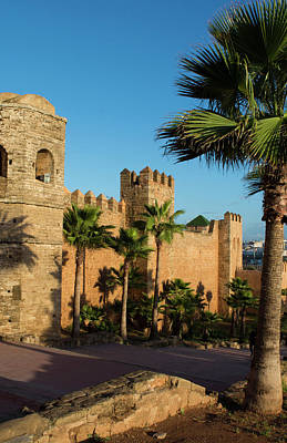 Rabat Morocco Beautiful Kasbah Udaya Poster by Bill Bachmann