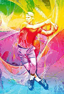 Rafael Nadal 01 Poster by RochVanh