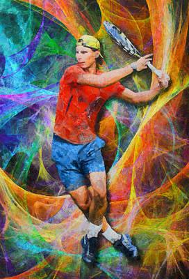 Rafael Nadal 02 Poster by RochVanh