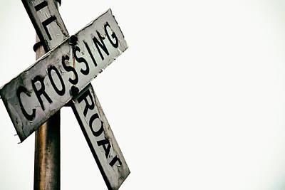 Railroad Crossing Poster by Karol Livote