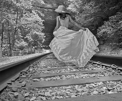 Rails Poster by Betsy Knapp