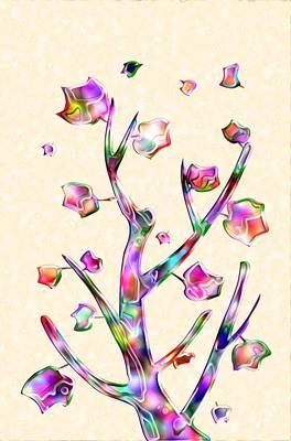 Rainbow Tree Poster by Anastasiya Malakhova