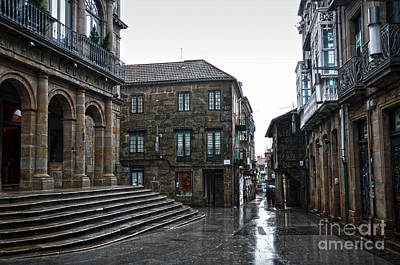 Raining In Pontevedra Poster by RicardMN Photography