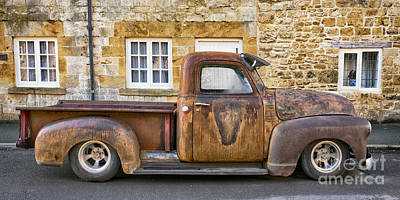 Rat Chevrolet 3100 Pickup Poster by Tim Gainey