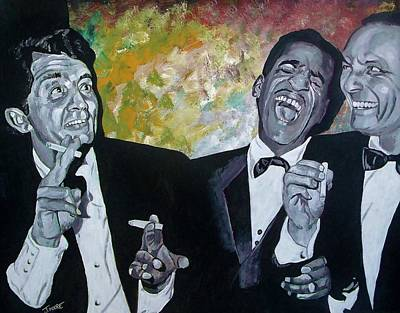 Rat Pack Poster by Jeremy Moore