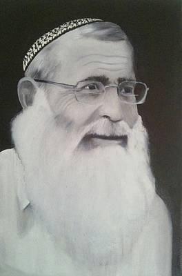 Rav Levanon Poster by Boaz Hilel