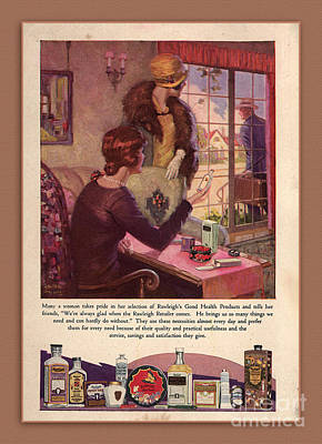 Rawleighs Good Health Products Poster by Anne Kitzman
