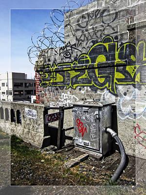 Razor Wire Poster by Daniel Hagerman
