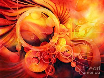 Rebirth - Phoenix Poster by Hailey E Herrera