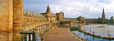 Recently Restored Palace, Plaza De Poster by Panoramic Images