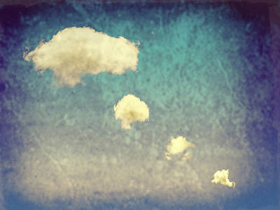 Recycled Clouds Poster by Amanda Elwell