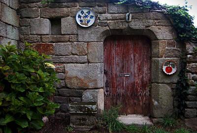 Red Door In Loconan Poster by RicardMN Photography