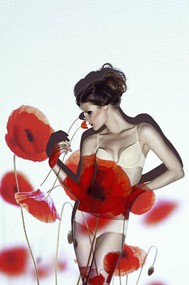 Red Poster by Marinastudio