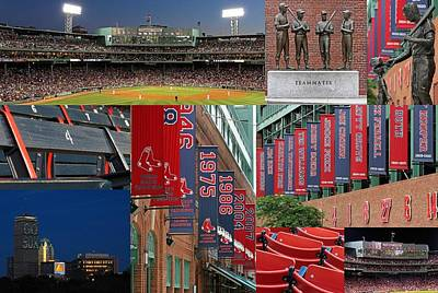 Red Sox Nation Poster by Juergen Roth