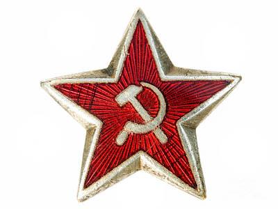 Red Star Poster by Sinisa Botas