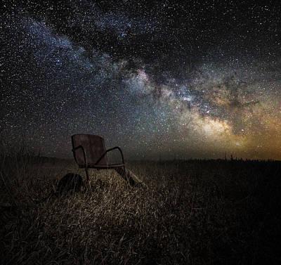 Redneck Planetarium Poster by Aaron J Groen