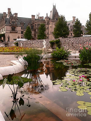 Reflected Biltmore Poster by David Bearden