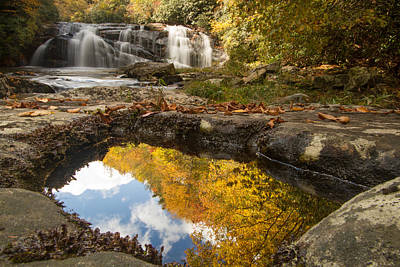 Reflections Of Fall Poster by Doug McPherson