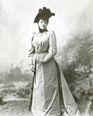 Rejane (1857-1920), Nee Gabrielle Reju Poster by Granger