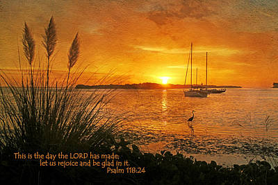 Rejoice And Be Glad Poster by HH Photography of Florida