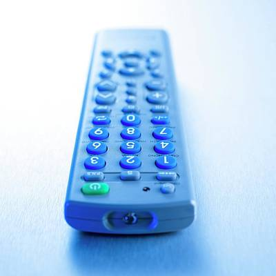 Remote Control Poster by Science Photo Library