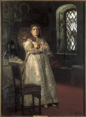 Repin, Ilya Yefimovich 1844-1930. Grand Poster by Everett