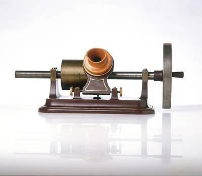 Replica Of Thomas Edison's Phonograph Poster by Dorling Kindersley/uig