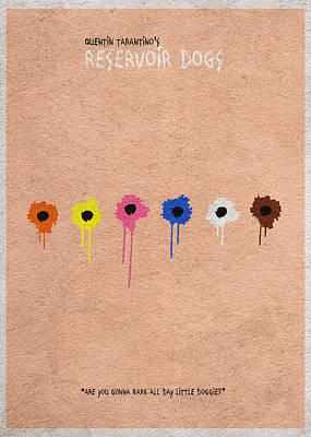 Reservoir Dogs - 2 Poster by Ayse Deniz
