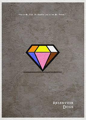 Reservoir Dogs - 3 Poster by Ayse Deniz