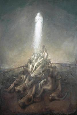 Resurrection Poster by Odd Nerdrum