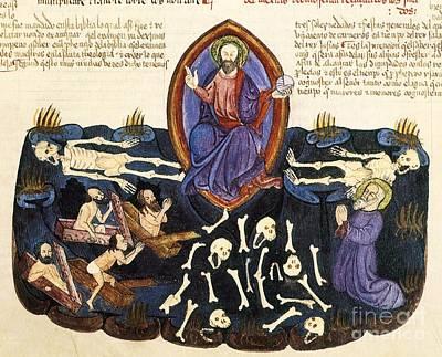 Resurrection Of The Dead, 1430 Artwork Poster by Patrick Landmann
