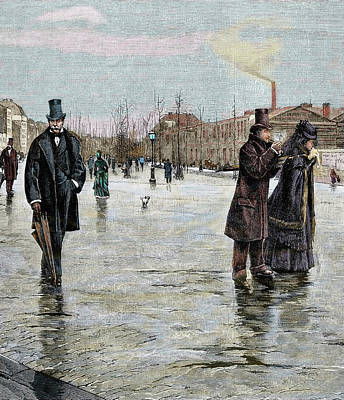 Returning From A Funeral Poster by Prisma Archivo