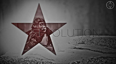 Revolution Poster by Beni Cufi