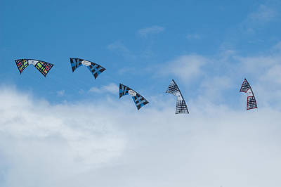 Revolution Kites At The Windscape Kite Festival 2011 Poster by Rob Huntley