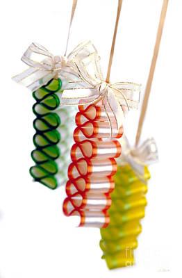 Ribbon Candy Poster by Iris Richardson