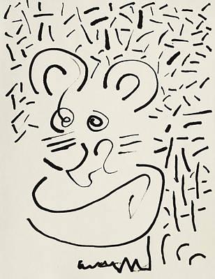 Ricky Mouse Poster by Rick Stecz