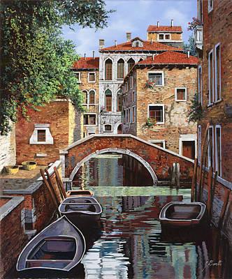 Riflessi Di Venezia Poster by Guido Borelli