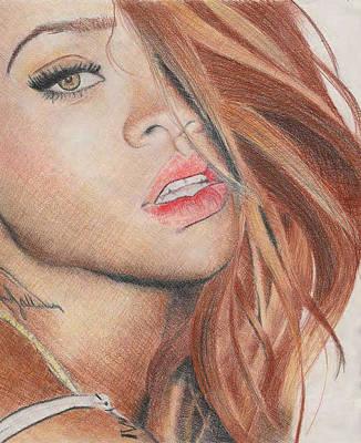 Rihanna Poster by Greta Profaci