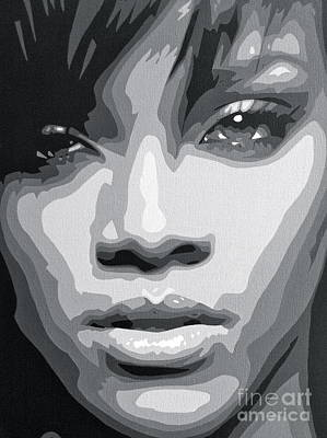 Rihanna  Poster by Siobhan Bevans