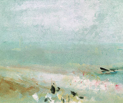 River Bank Poster by Joseph Mallord William Turner
