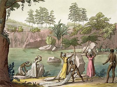 River Near San Benedetto, Madagascar Poster by Gallo Gallina
