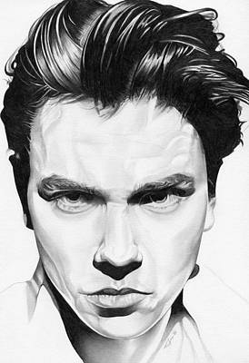 River Phoenix Poster by Fred Larucci