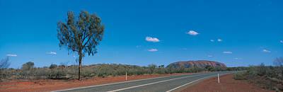 Road Ayers Rock Uluru-kata Tjuta Poster by Panoramic Images