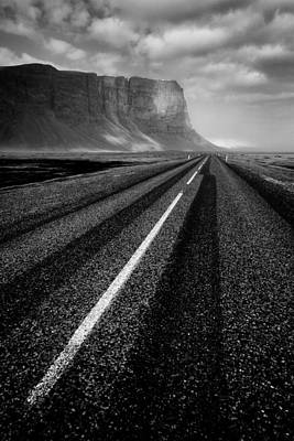 Road To Nowhere Poster by Dave Bowman