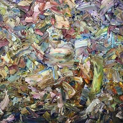 Roadside Fragmentation - Square Poster by James W Johnson