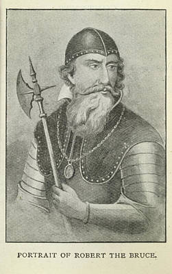 Robert The Bruce Poster by British Library