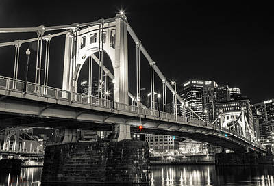 Roberto Clemente Bridge Poster by Kyle Nagle