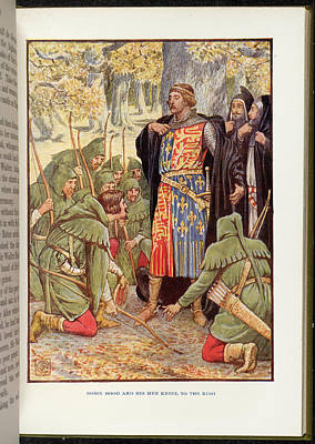 Robin Hood Before Richard I Poster by British Library